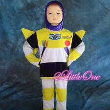 Buzz Lightyear Hero Fancy Halloween Party Costume Outfit Toddler Boy 2T-7 FC024
