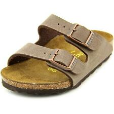 Birkenstock Arizona Toddler N Open Toe Synthetic Brown Slides Sandal NWOB