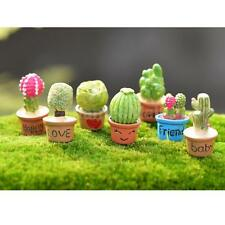 Miniature Fairy Garden Micro Landscape Dollhouse Figurine Yard Bonsai Decor