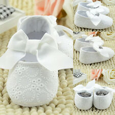 Infant Baby Girl Soft Sole Crib Toddler Shoes 0 to 12 Months Dramatic