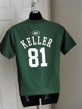 New-Minor Flaw- Dustin Keller #81 New York Jets NFL Youth sizes M-L Green Shirt