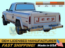 1980 1981 1982 Jeep Laredo J10 Truck Cherokee SJ Decals Stripes Kit