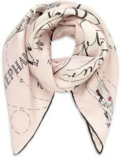 AGENT PROVOCATEUR PINK ARLENE LIMITED EDITION SILK AVIATION SCARF RRP £175 BNWT
