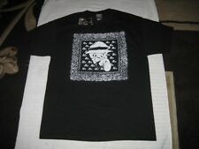 New - Black OLD ENGLISH BRAND - OG BANDANA T-Shirt - size L & 3XL - Chicano