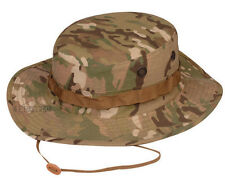 Tru-Spec Multicam camouflage boonie hats 50/50 NYCO ripstop