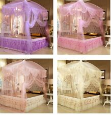 Lace Luxury Princess Mosquito Net Canopy Bites Protect Full Queen King Size