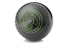 DRAKES PRIDE D-TECH GRIPPED BLACK BOWLS AVAILABLE IN VARIOUS WEIGHTS