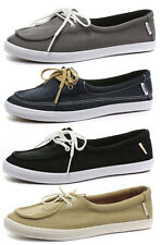 New Vans Rata Lo Womens Flat Lace Up Shoes ALL SIZES AND COLOURS