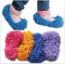 Mop Slippers Floor Polishing Cover Cleaner lazy Dusting Cleaning Foot Shoes Hot