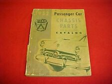 1949 1950 1951 1952 ORIGINAL NOS FORD CAR PARTS CATALOG BOOK MANUAL 49 50 51 52