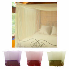 Mosquito Net Fly Insect Protection Single Double King Size Canopy Netting