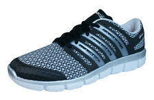adidas CC ClimaCool Crazy Mens Running Sneakers / Shoes - Silver Black
