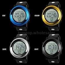 SKMEI Digital LED Fashion Mens Sports Watch 5ATM Water Resistant Stopwatch C5G5