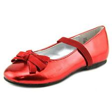 Balleto by Jumping Jacks Piper Youth  Round Toe Synthetic Red Mary Janes