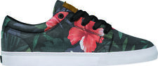 Globe Shoes Lace Up Low shoe GS black hawaiian patterned
