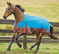 Weatherbeeta Waterproof Horse Winter Blanket Turnout Blue/Brown 1200D 66""