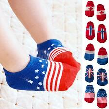 Cotton Baby Socks New Born Girls Boys Cute Non Slip Ankle Socks Boat Socks 0-4Y