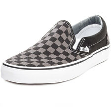 Vans CSO Check Mens Canvas Black Grey Trainers