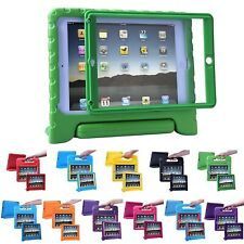 iPad Air 1 Bumper Case for Kids Shockproof Cover with Built in Screen Protector