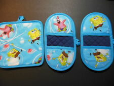 "SPONGE BOB SQUARE PANTS 8""x8"" Potholders and Microwave Potholders"