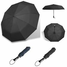 Strong Automatic Open&Close Folding Compact Windproof Anti-UV Sun/Rain Umbrella