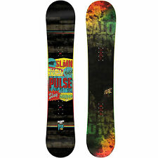 Salomon Pulse Men's Snowboards Freestyle Super Flat Boards 2015-2016 NEW