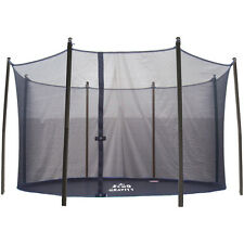 Safety Enclosure for 12ft Trampoline - 8 Poles, Net, Foams, Caps and Fixings