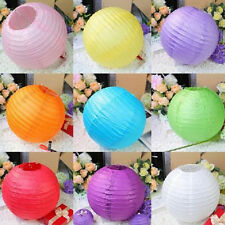 "10PCS/LOT 8"" 10"" 12"" Colorful Chinese Paper Lantern Wedding Birthday Party Decor"