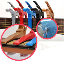 Quick Change Key Trigger Acoustic Electric Folk Guitar Tune Capo Clamp Useful