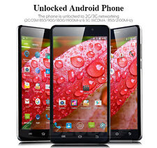 """AT&T Straight Talk 6"""" Unlocked Android 5.1 Smartphone LOT WIFI GPS+3G Cell Phone"""