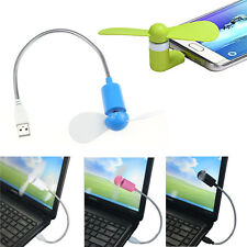 Portable Android Phone Super Mute USB Cooler Micro Mini Fan For Smartphones Fan
