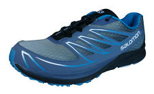 Salomon Sense Mantra 3 Mens Trail Running Sneakers / Shoes - Blue and Grey