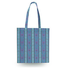Ice Queen Elsa Dress Canvas Tote Bag - 16x16 inch Book Gym Bag Optional Zip