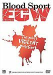 WWE BLOOD SPORT ECW THE MOST VIOLENT MATCHES (DVD, 2006)