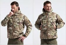 TAD Army Camouflage Jacket Weather Water proof Stealth Hoodie Airsoft Paintball