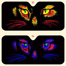 CC car window sun shade,truck-suv  cat eyes in various colors more in stoe