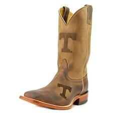 Nocona Mens Tennesse 12 Men 2E Square Toe Leather Brown Western Boot