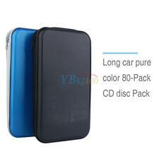 80 Disc CD DVD VCD DJ Storage Organizer Holder Case Pouch Wallet Bag Box Album