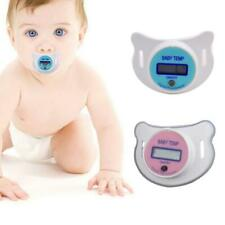 Kids Toddler Baby LCD Nipple Pacifier Thermometer Digital Oral Thermometer