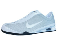 Nike Shox Rival Womens Leather Fitness Trainers / Shoes - Silver 013X See Sizes