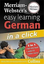 Merriam-Webster's Easy Learning German in a Click by Inc. Staff...