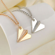 New Cute Harry Styles 1D One Direction Paper Plane Airplane Necklace Promotion W