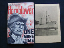 HORNBLOWER ONE MORE TIME by C S FORESTER with SCARCE PAMPHLET 1st Edition