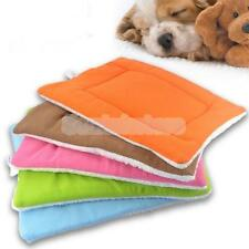 Dog Cat Bed Mat Pet Puppy Gift Kennel Pad House Travel Sleep Cushion 5 Color S-L