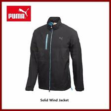 Puma Golf Men's Solid Wind Black Jacket Small Medium $100