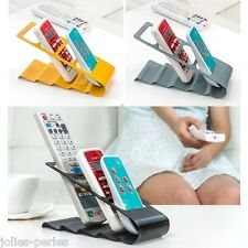 JP TV DVD VCR Remote Control Storage Rack Cell Phone Holder Storage Stand
