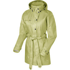 SIERRA DESIGNS Clandestine WATERPROOF Rain TRENCH COAT Travel JACKET Womens size