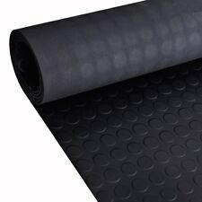 2x1/5x1m Rubber Flooring Mat Rug Carpet Dot Patterned Anti Slip Home Matting