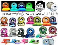 "Crazy Aaron's PUTTY 4"" Tin U PICK Slime Stress Therapy Autism Office Desk Toy"