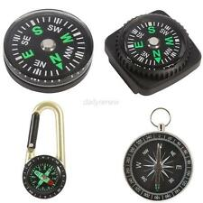 Survival Pocket Watch Style Outdoor Camping Hiking Compass Navigation Tool